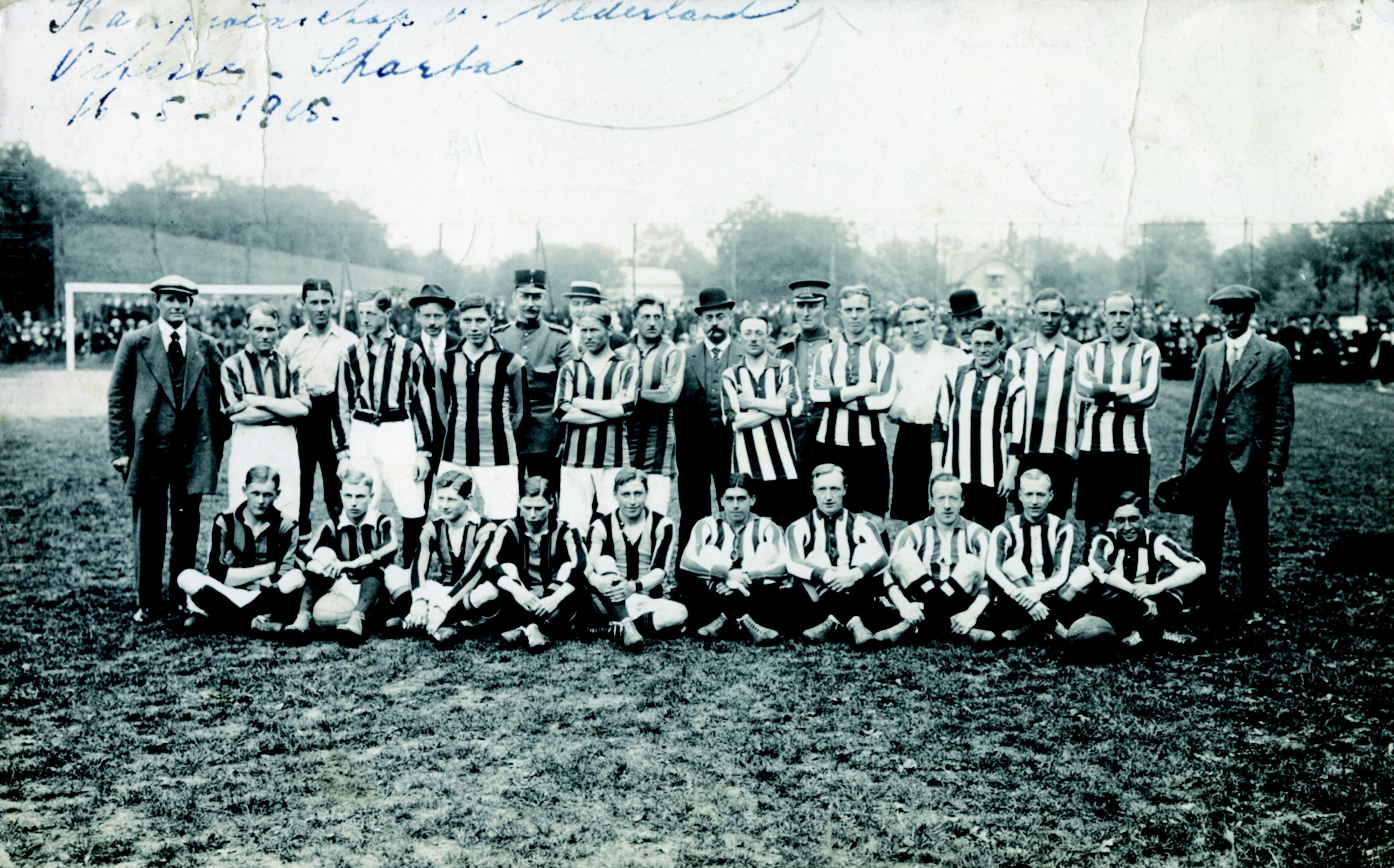 Afbeeldingsresultaat voor sparta kampioen 1915