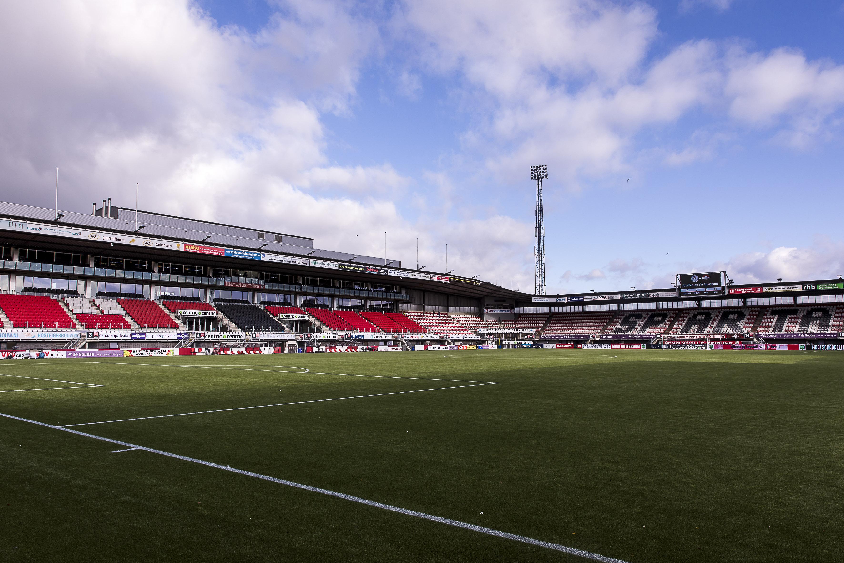 Kleurplaten Voetbalstadion.Stadion Sparta Rotterdam Sparta Rotterdam