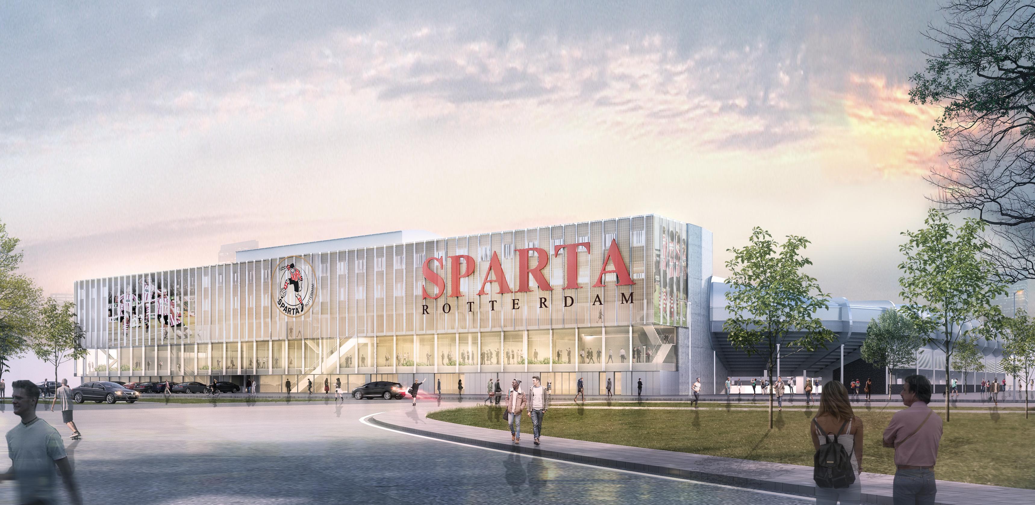 Kleurplaten Voetbalstadion.Impressies Gewenste Verbouwingen Nieuw Terbregge Sparta
