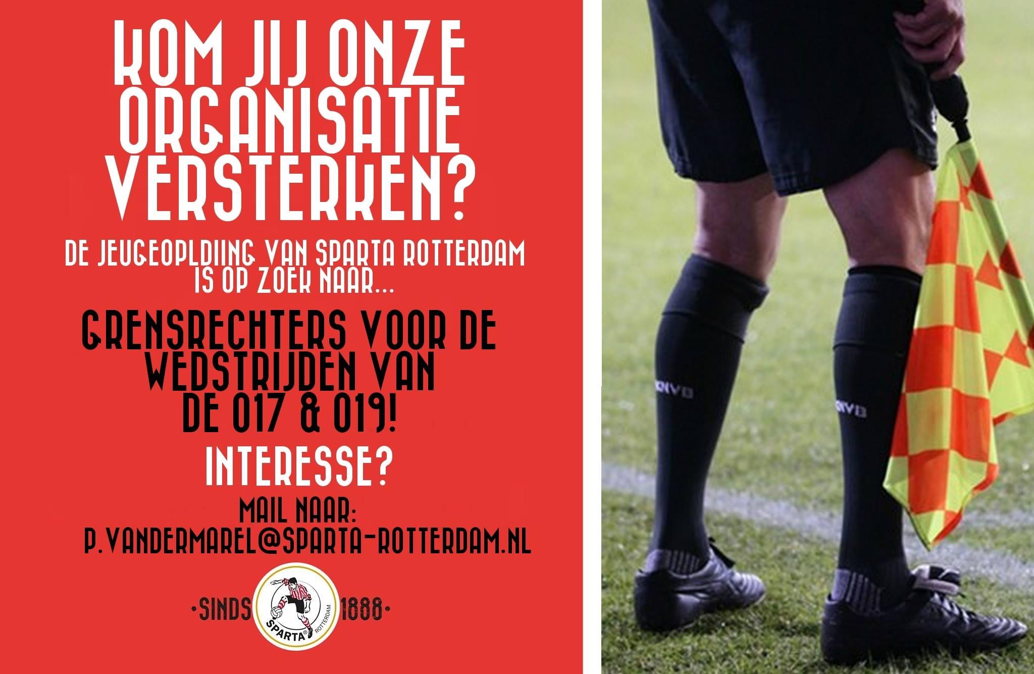 open sollicitatie rotterdam Vacatures   Sparta Rotterdam   Sparta Rotterdam